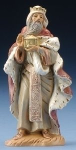 King Melchior Nativity Figurine Fontanini
