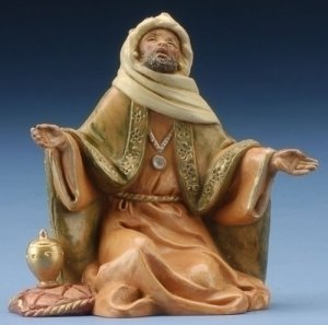 King Balthazar Nativity Figurine Fontanini