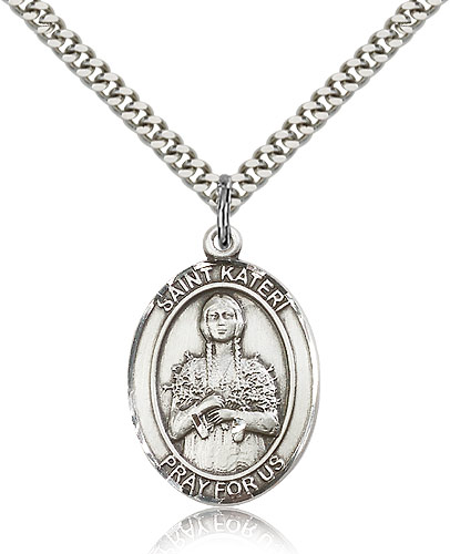 ST. Kateri Sterling Silver