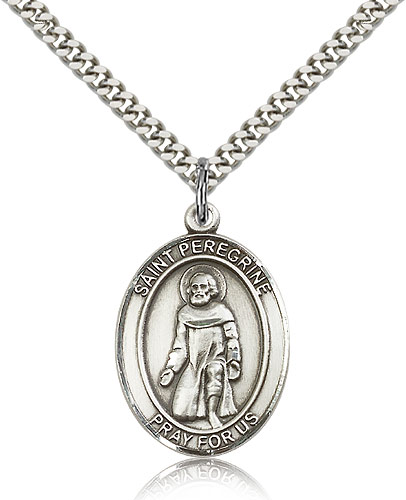 ST. Peregrine Sterling Silver
