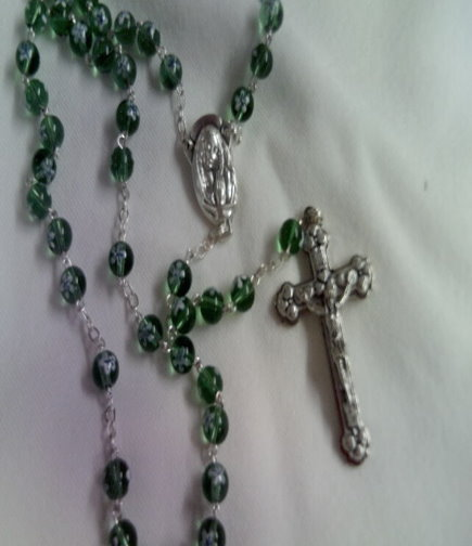 Venetian Glass Rosary