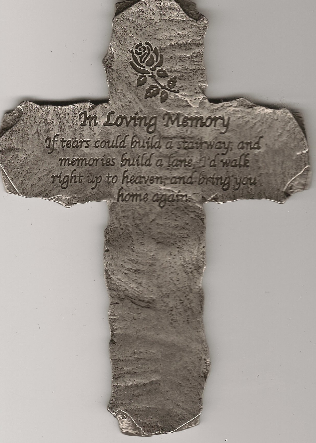 In Loving Memory Wall Cross