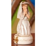 Kneeling First Communion Girl