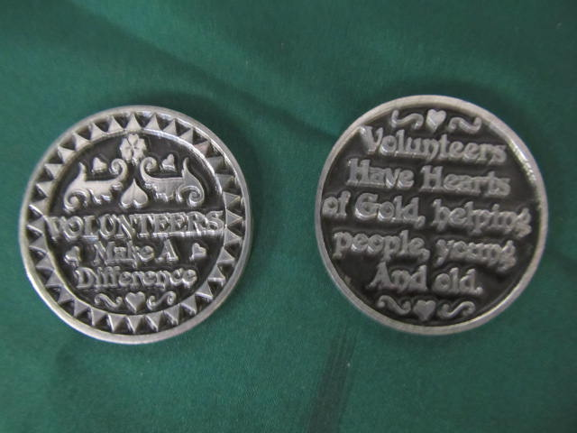 Volunteers Make a Difference: Pocket Coins